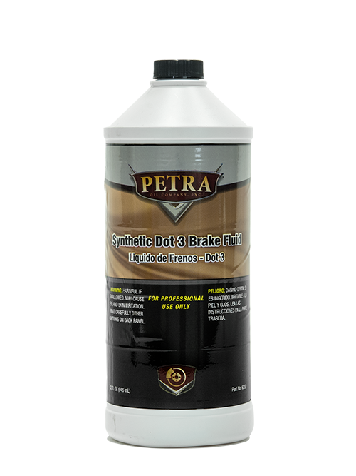 PN 6332 Petra Synthetic Dot 3 Brake Fluid
