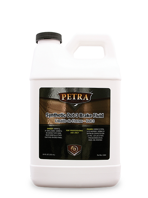 PN 6364 Petra Synthetic Dot 3 Brake Fluid